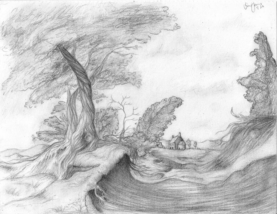 Landscape Class by longtallskinnygirl