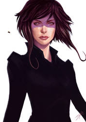 Aeon Flux by Gillesketting