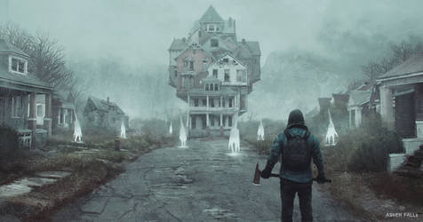 Ashen Falls - Multihouse by Gillesketting