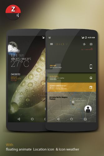 ZLITE - Kustom live wallpaper *Update* by twaintyfour
