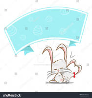 Rabbits-playing-funny-and-light-blue
