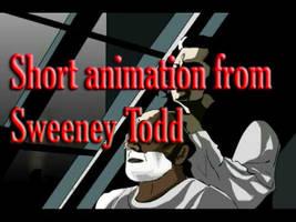 Sweeney Tod Bloody Slash by XredandblueX