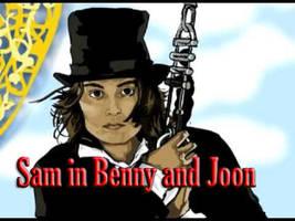 Sam in Benny and Joon by XredandblueX