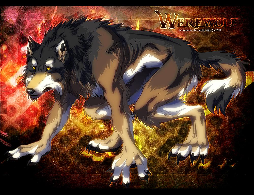 Werewolf by Karolykan