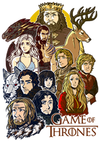 Game of Thrones by KarolyneRocha