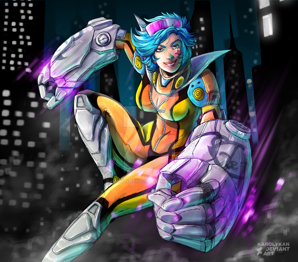 Vi Neon Strike by KarolyneRocha on DeviantArt