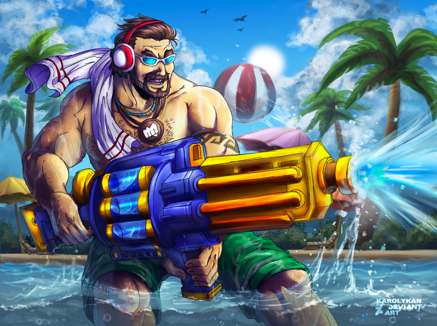 Pool Party Graves Looks Hot