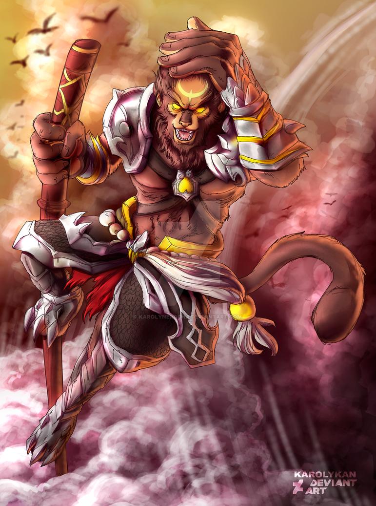 Wukong by Karolykan