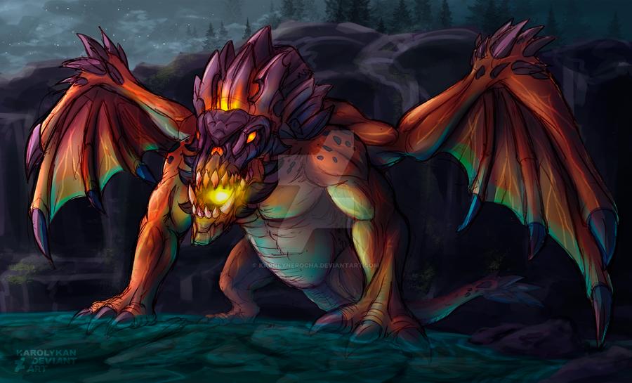 Dragon by Karolykan