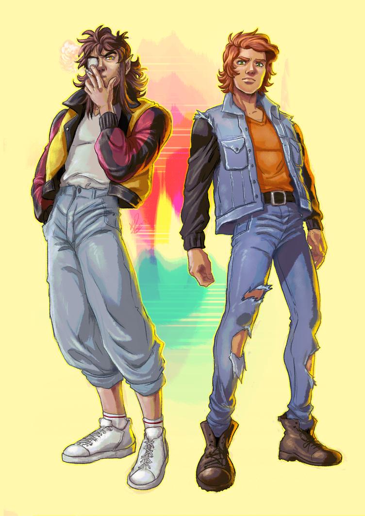 Reithan and David by KarolyneRocha