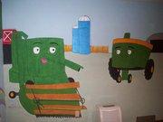 Tractor Wall by FelidaeSilvestris