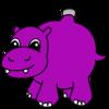 Hippo Ornament by FelidaeSilvestris