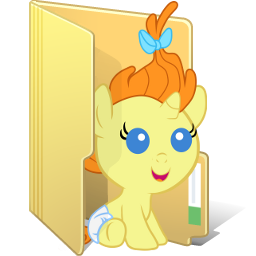 Pumpkin Cake Folder by FelidaeSilvestris