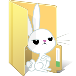 Angel Bunny Folder by FelidaeSilvestris