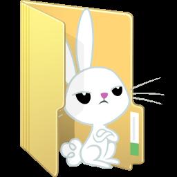 Angel Bunny Folder by FelidaeSilvestris