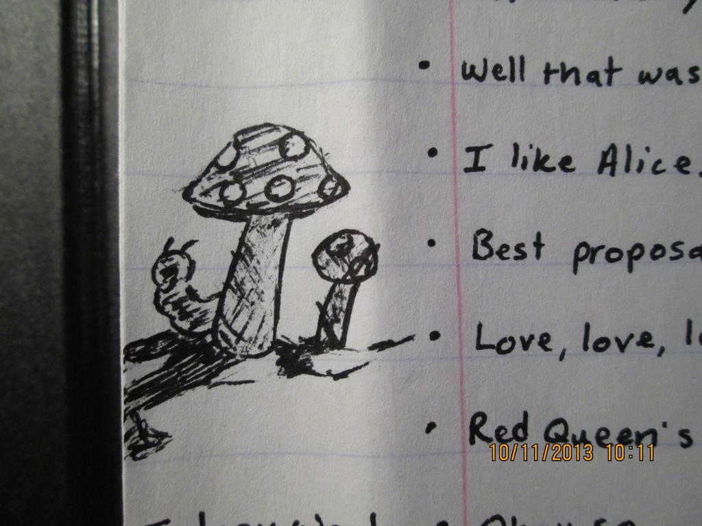 Absolom Mushrooms by FelidaeSilvestris