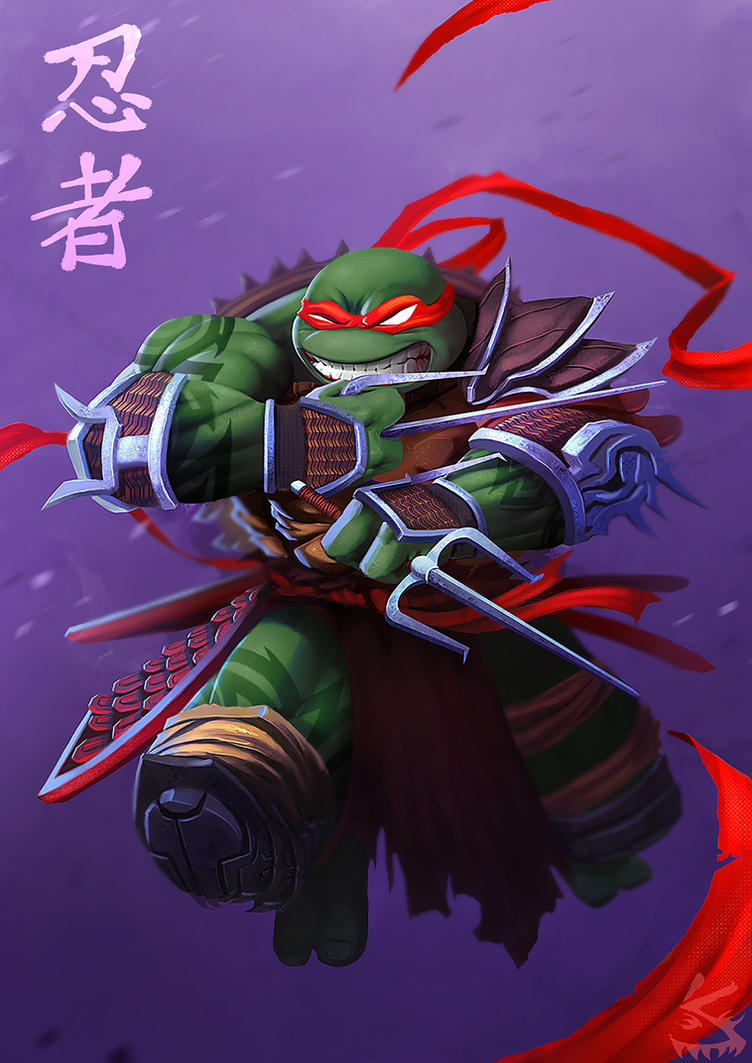 RAPHAEL - NINJA TURTLES by SOLOMONSTA on DeviantArt
