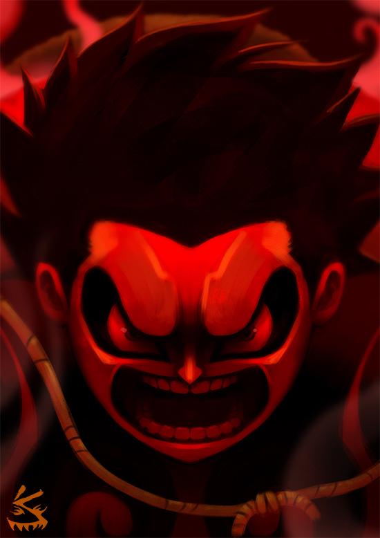 One Piece Luffy Gear Fourth By Solomonsta On Deviantart