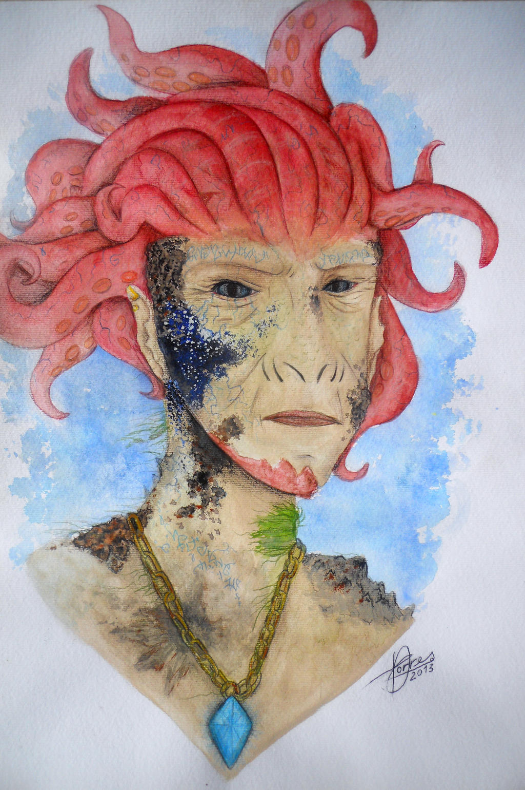 Okyanus Kralice - Queen of the Ocean by diegio1996