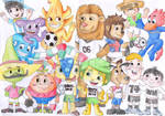 All World Cup Mascots