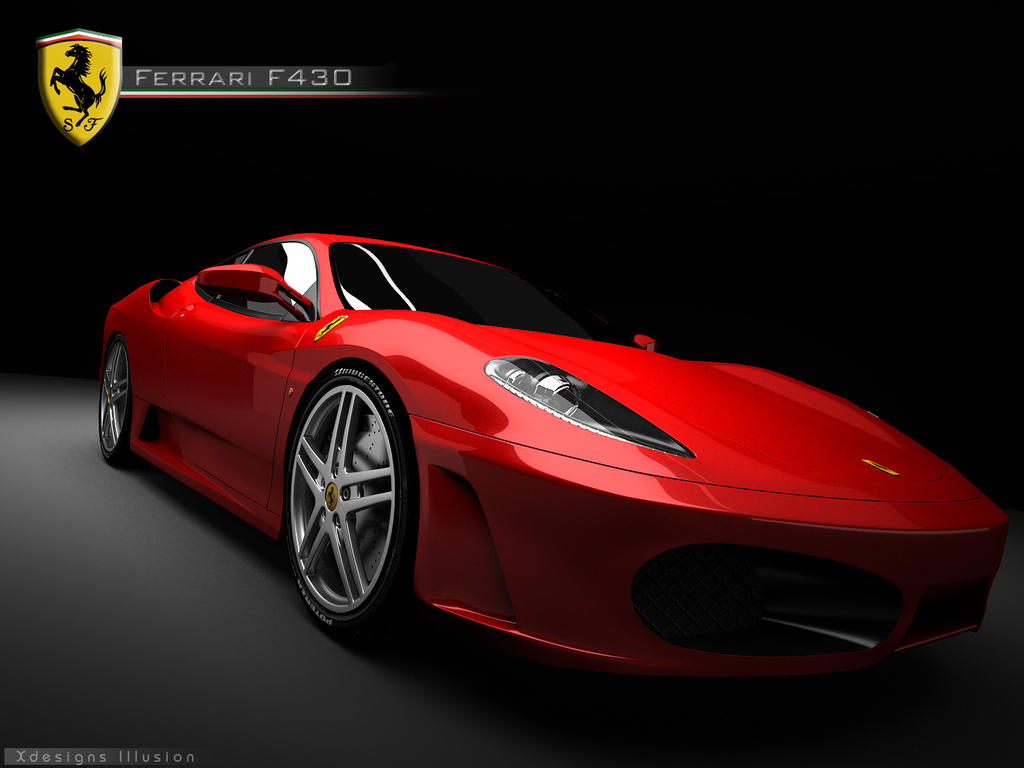 Ferrari F430 red by XdesignsIllusion