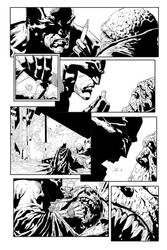 Batman Page by Millenar