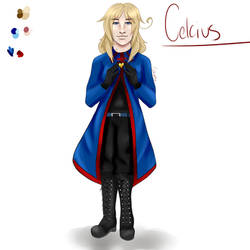 Celcius (Hetalia OC) by galaxypox