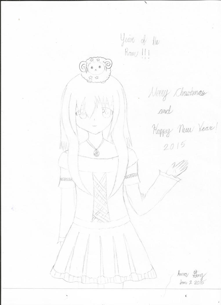 Happy New Year by Annagong963