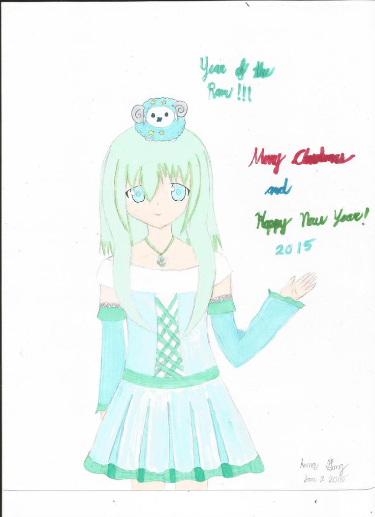 Happy New Year -color- by Annagong963