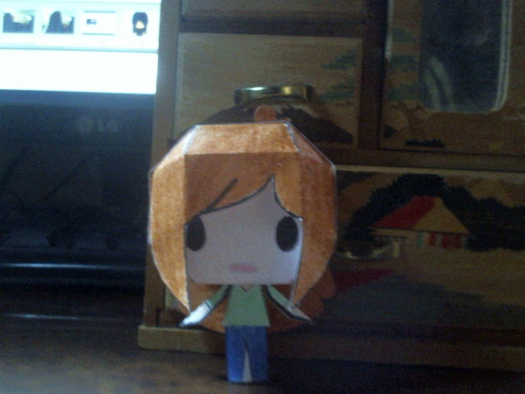 Kate papercraft Doll by Annagong963