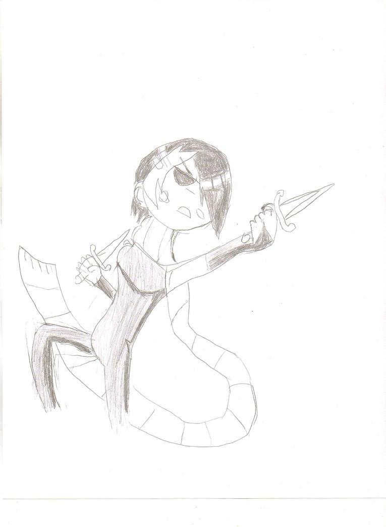 I'm Knives Chau And I'm A Scottaholic! by Luigidile7
