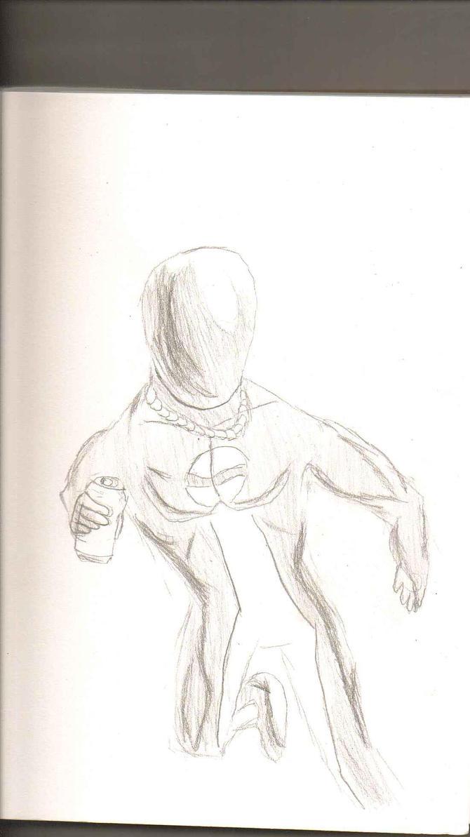 Sketch Dump - PepsiMan by Luigidile7