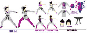 Juri Dobok - Street Fighter Costume Contest Entry