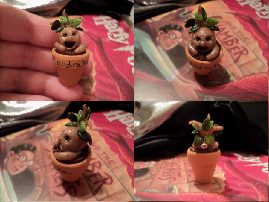 Mandrake Seedling Pendant by AquariusStar82