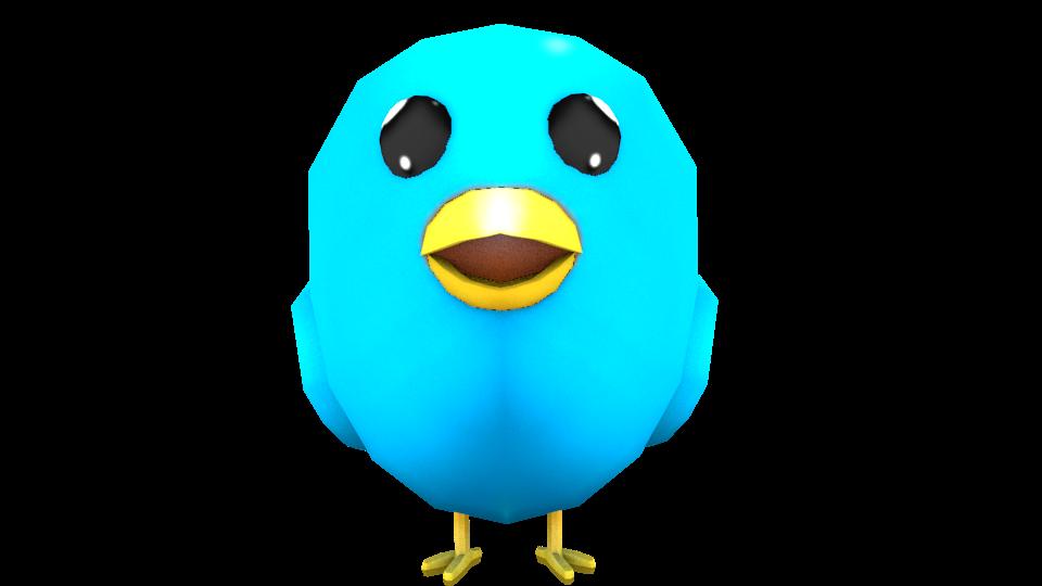Twitter bird GFX by HanaSketchbook on DeviantArt
