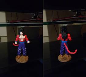 Figurine Son Gohan Super Saiyajin 4