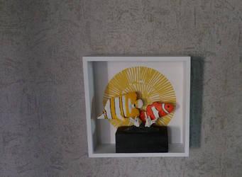 Statue poissons