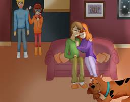 Scooby Doo - Shaggy and Daphne by AmandaHenriquez