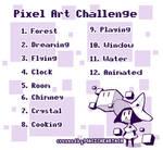 Pixel Art Challenge by AmandaHenriquez