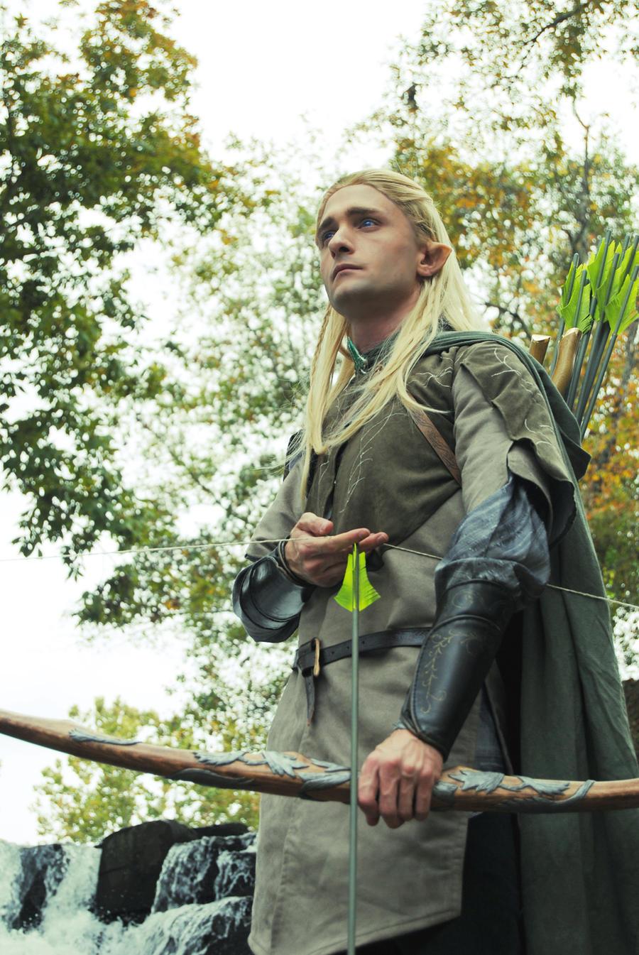 Legolas Of The Woodlen Realm By Celticruins