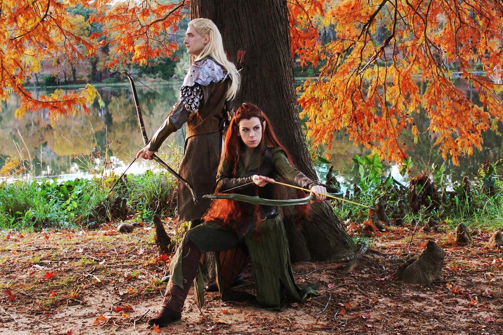 Archers of Mirkwood by celticruins