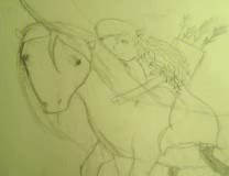 Elf on a pony by Finnickandannie14