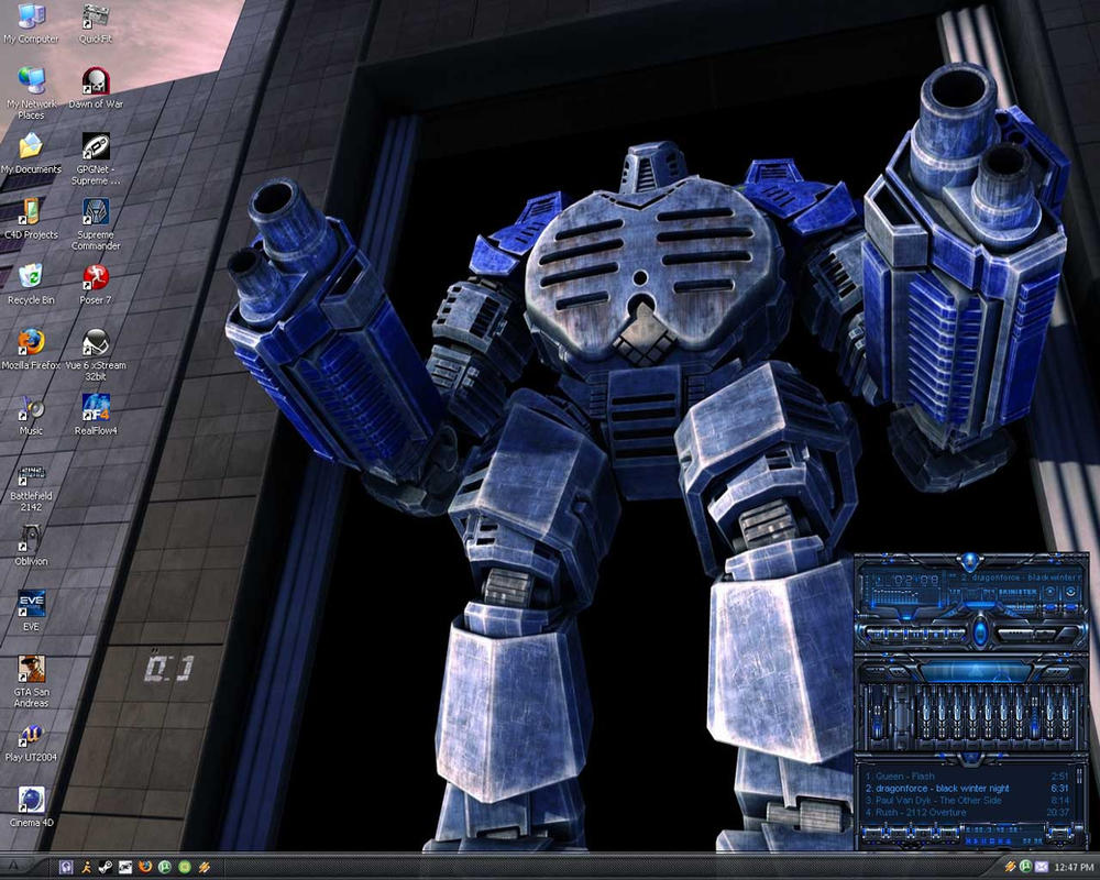 Desktop Screenie by Xelitron