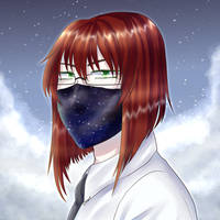 space mask by deKirbyGal