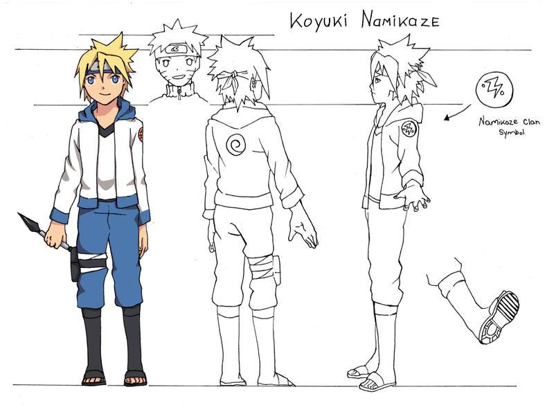 Koyuki Namikaze- Character Sheet by T4iki
