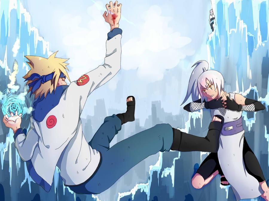 NARUTO OC Tournament Round 2: Koyuki vs Chiyuki by T4iki