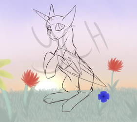Evening Flowers [YCH POINTS+PAYPAL]
