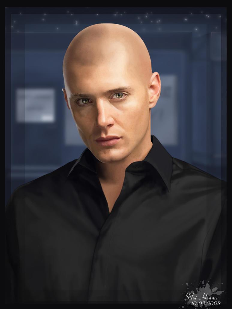 Jensen ackles shaved head 2008