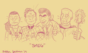 Red Dwarf by Doodleteen
