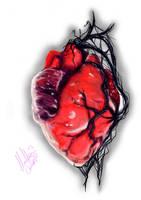 Symbiote Heart by blacksignature